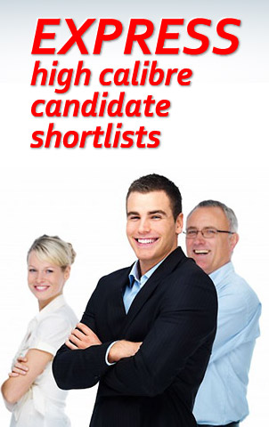 express high calibre candidate shortlists